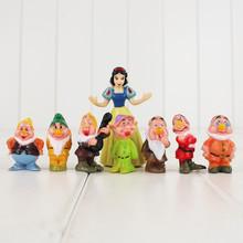 8 sztuk partia 4 5 cm cartoon 3D pcv siedmiu krasnoludków śnieżnobiałe figurki zestaw zabawek dla prezenty bożonarodzeniowe dla dzieci tanie tanio 14 lat 12-15 lat 5-7 lat Dorośli 8-11 lat 3 lat Pierwsze wydanie 4 5 cm Unisex Żołnierz zestaw Żołnierz części i podzespoły elektroniczne