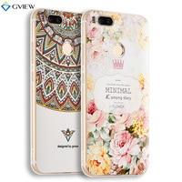 Super 3D Relief Printing Clear Soft TPU Case For Xiaomi Mi 5X M5X Phone Back Cover