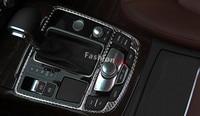1pcs Interior gear shift frame cover trim For Audi 2012 2015 A6 C7 / 2010 2016 A7 4G