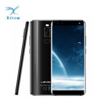 Смартфон LEAGOO S8 с Android 7.0, HD+ дисплей IPS 5,72 дюйма 1440*720, восьмиядерный MTK6750, 3 Гб + 32 Гб, четырехкратная камера, сканер отпечатков пальцев, мобильный...