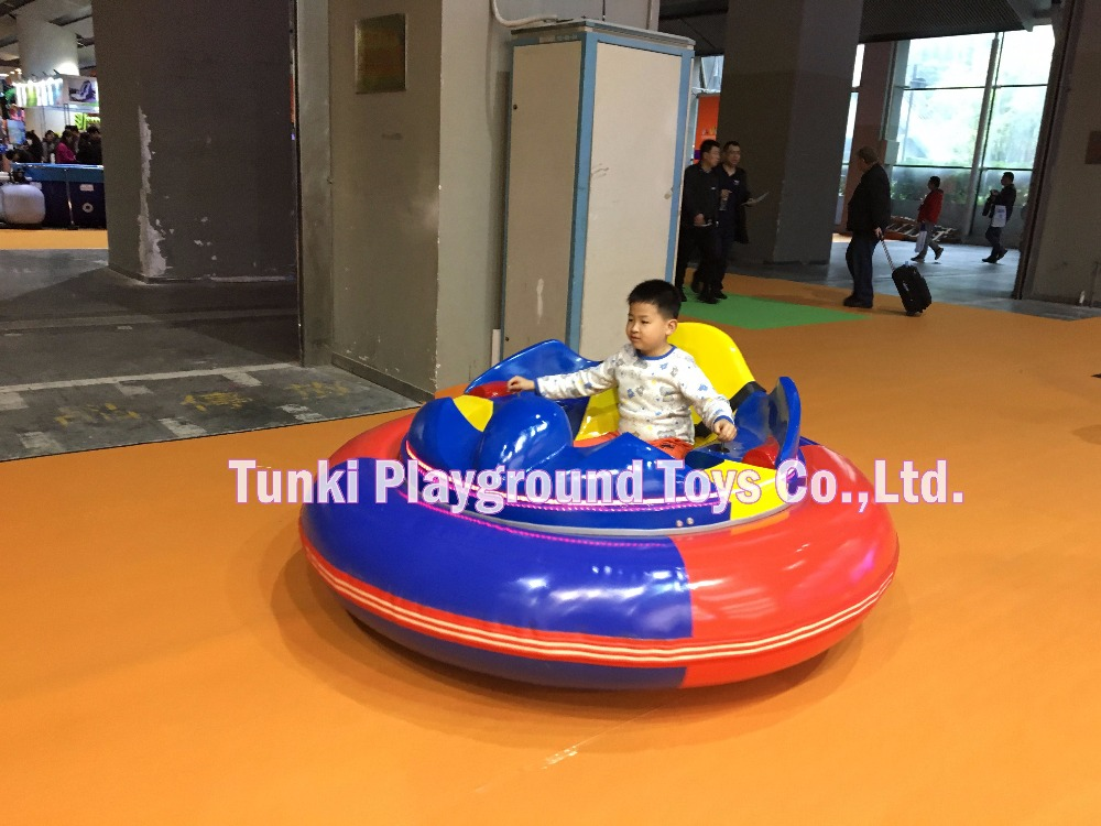 Inflatable Kiddie Electric Animal Bumper Car