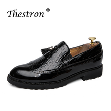 Thestron Brand Men Shoes Man Slip On Flats Footwear Black Wine Red Youth Casual Shoes For Mens Designer Vintage Fashion Sneakers цены онлайн