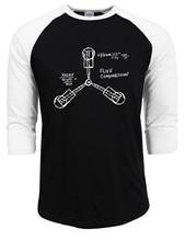 """Flux Capacitor"" baseball / jersey T-shirt"