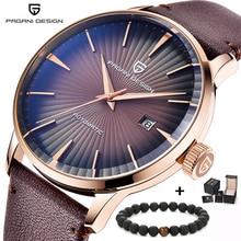 PAGANI Дизайн Топ Элитный бренд для мужчин Автоматический деловые часы водостойкие модные простые часы бизнес класса Relogio Masculino