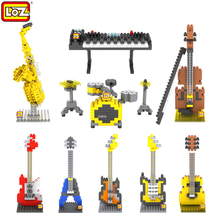 LOZ Musical Instruments toys Mini Diamond Building block kids toys gift educational Toy christmas gifts Action Figure for 9+