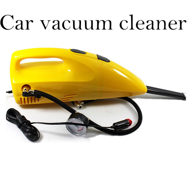 90w 2 IN 1 Inflator Air Compressor Portable Handheld Mini  Car vacuum cleaner With Air Pump