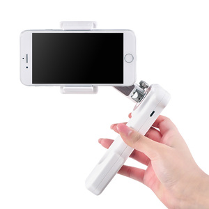 Image 2 - Cadiso X Cam يده موبايل فيديو 2 محور الهاتف مثبت أفقي للهاتف آيفون 8 plus سامسونج هواوي الهاتف الذكي Selfie عصا