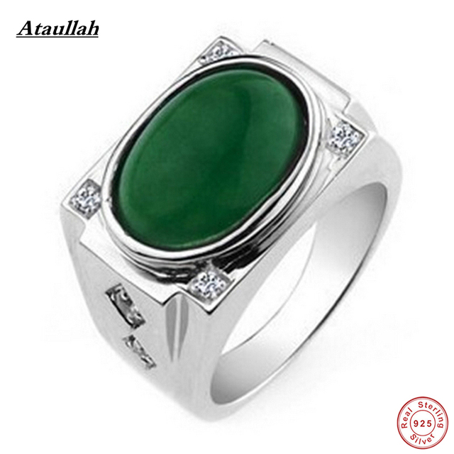 ring jade natural burma rings
