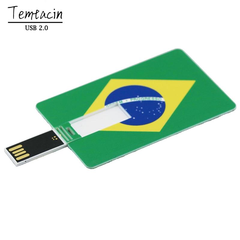 Parim müügi pangakaart PenDrive USB Flash Drive USB 2.0 Flash Drive - Väline salvestus - Foto 3