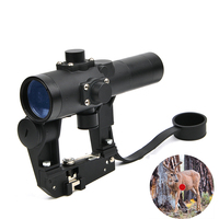 Tactical SVD 1x24 Scope in Rifle Scope jacht kijkers Scopes Red Dot Scope For Hunting Recoil Resistant Reflex Sight Fit AK 47