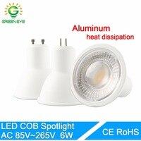 MR16 220 V 7 W GU10 lâmpada LED spotlight Lâmpada LED Downlight mesa de luz de teto luz Do Ponto De refrigeração de Alumínio Ângulo de Feixe 120 30