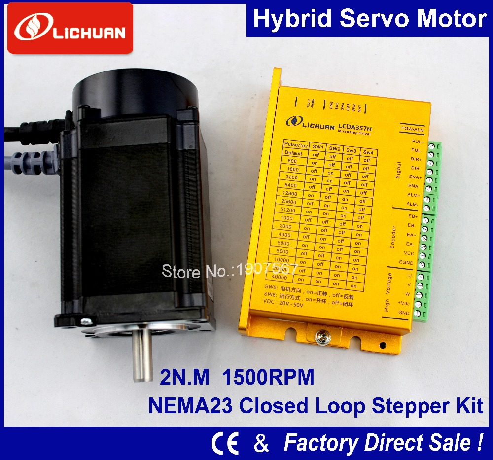 Buy new lichuan closed loop stepper motor Servo motor sale