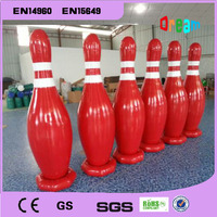 Free Shipping 6 pieces 1.8m Inflatable Bowling Pins Inflatable Body Bowling Sports For Human Bowling Balls Free A Pump