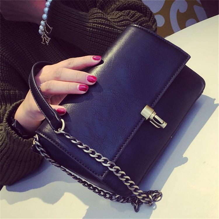 2015 New Fashion Women Bag Leahter Handbags Small Messenger Bolsa Feminina Crossbody Shoulder Bags  Bolsos Famous Brands Lady 002
