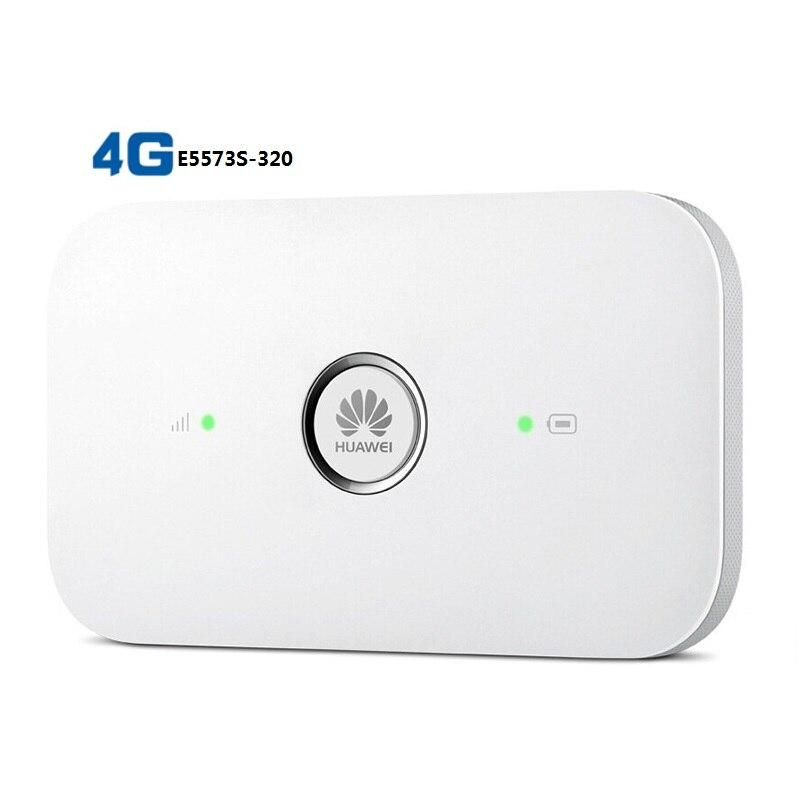Débloqué Huawei e5573 4g Dongle Lte Wifi Routeur E5573S-320 3G 4G WiFi Wlan Hotspot USB Sans Fil Routeur 150 M 4G LTE FDD 800/1800/