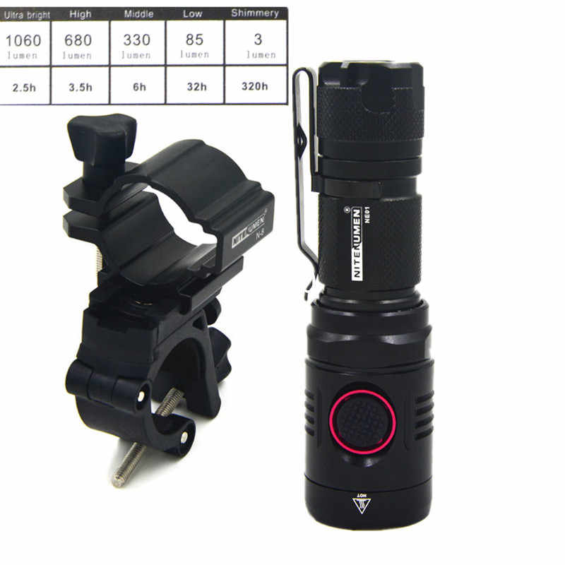 Jazda na rowerze rower 1060 lumenów LED USB akumulator z przodu światła MTB lampa rowerowa