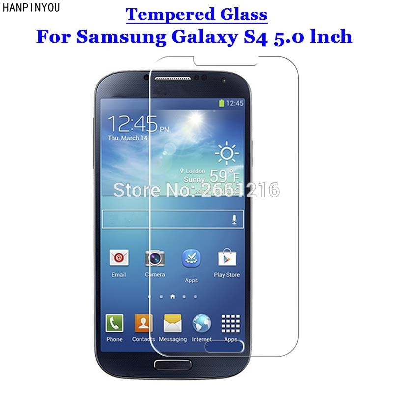 S4 Tempered Glass 9H 2.5D Premium Screen Protector Film For Samsung Galaxy S4 SIV S 4 IV i9500 5.0
