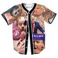 Camisas de los hombres Jersey overshirt camisa sudor 3d imprimir Streetwear NUEVO LLEGA LA MODA con estilo Único Breasted verano
