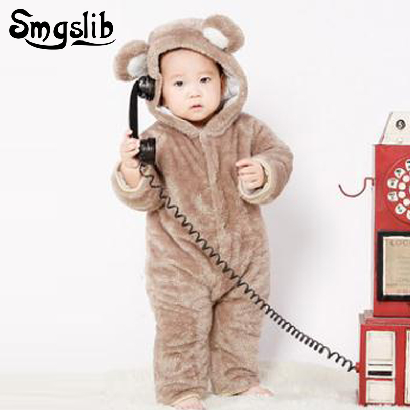 Smgslib2018 Infant Romper Baby Boys Girls Jumpsuit New born Bebe Clothing Hooded Toddler Baby Clothes Cute Romper Baby Costumes hhtu 2017 infant romper baby boys girls jumpsuit newborn clothing hooded toddler baby clothes cute elk romper baby costumes