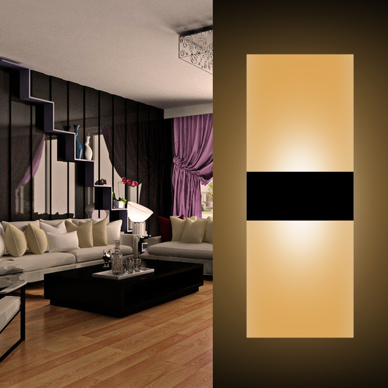 Jeff Wall Light Bulb Room : ??Modern Led Wall Lamp ? Acryl Acryl Bed Room Wall light ? Living Living Sitting Room Foyer ...