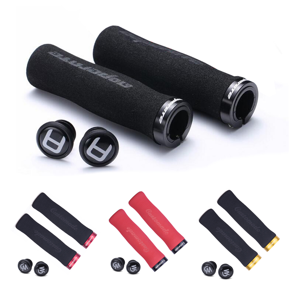 Unique Design Cycling Ergonomic Lockable Handle Grips For MTB Road Folding Bike Mountain Bike Soft Anti-skid Sponge Foam Grip