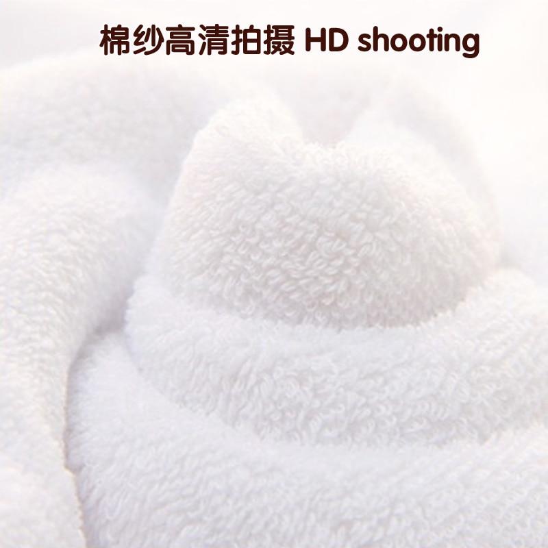 400 grams of 550 grams white towel bath towel Clean cotton bath towel Ladies Hotel wash bath towel