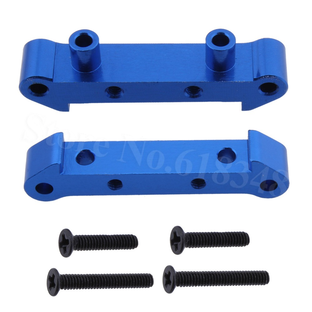 RC Car Alum. Alloy Front Rear Shock Tower For 1/18 Scale