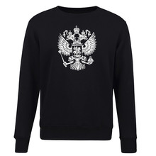 Coat of Arms of Russia Nickel Hoodies Men's Fashion Streetwear Clothing Multicolor Crew Neck Sweatshirts Basic Couples Gifts