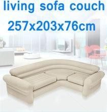 Оригинальный аутентичный INTEX двойной купе диван ленивый надувной диван-кровать угловой закат кресло, гостиная воздушный диван