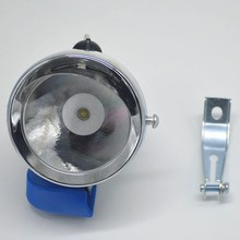 Metal Shell 1 LED Super Light Old Style Classic Vintage Vntga Retro Bike Bicycle Front Headlight