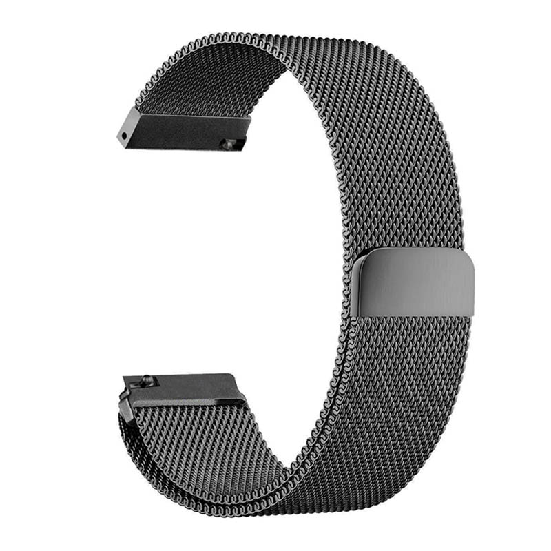 Stainless Steel Metal Milanese Magnetic Loop  Watch Band for Samsung S3 S2 Classic Frontier Wristwatch Strap Bracelet T15 2017 new stainless steel bracelet strap watch band milanese magnetic with connector adapter for samsung gear s2 watch band