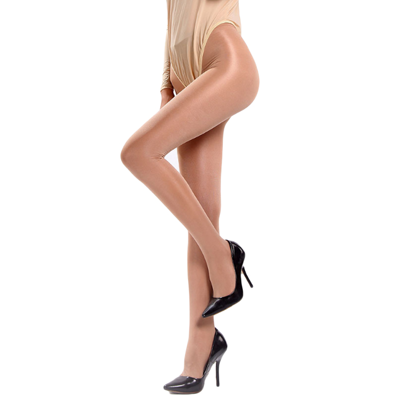 Hot Sexy Sheer Mesh Tights Women 2018 Fashion Shiny Pantyhose Female Elastic Nylon Stockings Plus Size Hosiery Collant Femme