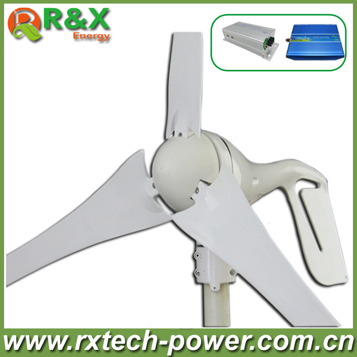 цены 400W wind generator, New brand wind turbine, come with wind controller+600w off grid pure sine wave inverter.