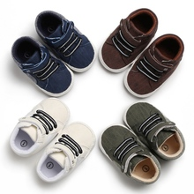 Baby Shoes Canvas Shoes Sports Sneakers Newborn Baby Boys Ca