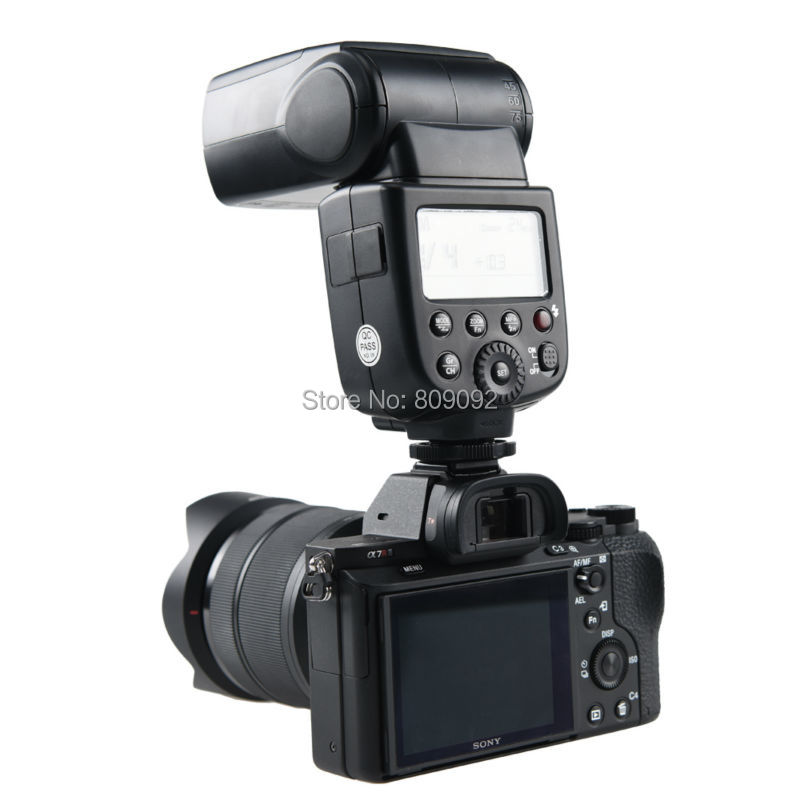 Godox TT600/S Camera Flash Speedlite 2.4G Wireless Trigger System GN60 for Canon Nikon Pentax Olympus Fujifilm/SONY Camera godox tt600 2 4g wireless camera flash speedlite with built in trigger system for canon nikon pentax olympus fujifilm panasonic