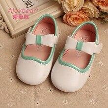 Baby Mädchen Prinzessin Schuhe Mit Bogen Mädchen Weiße Schuhe Für Hochzeiten Leistung Mädchen Party Schuhe Kinder Weiche prewalker