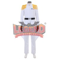 Imperial Officer White Grand Admiral Uniform Cosplay Costume for Star Wars Cosplay