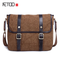 The New Canvas Shoulder Messenger Messenger Bag Men S Men S Computer Package