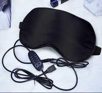 USB Dampf Schlafen Augen Maske Schattierung Maske Für Schlaf Soft Einstellbare Temperatur Control Elektrische Beheizte Maske zu Entlasten Auge