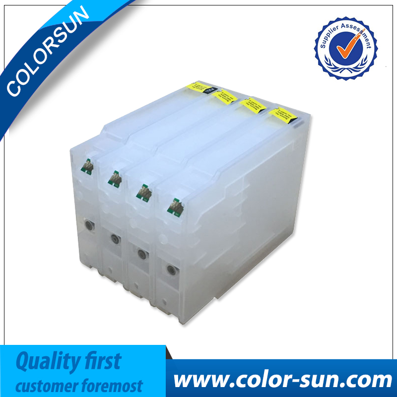 New Compatible for Epson Refillable Ink Cartridge T7551 T7561 For Epson WF 8010 8090 8510 8590