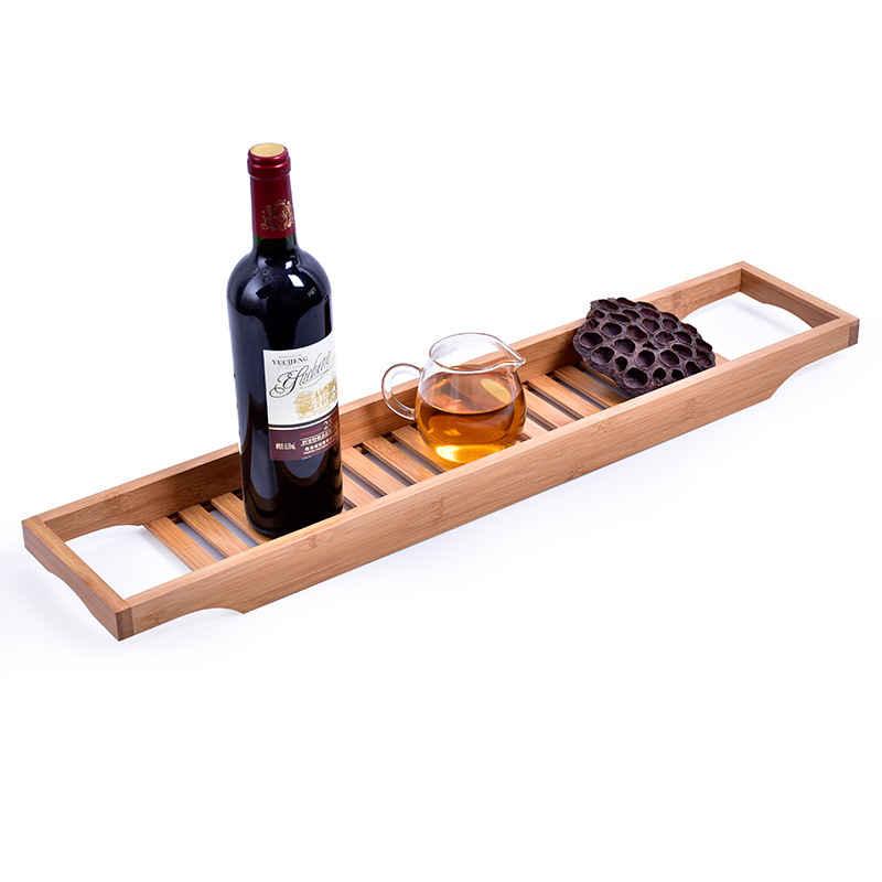 bamboo bathtubtray handcrafted bath tray bathroom shelves bathtub caddy bath caddy bath rack bathroom storage stand tray