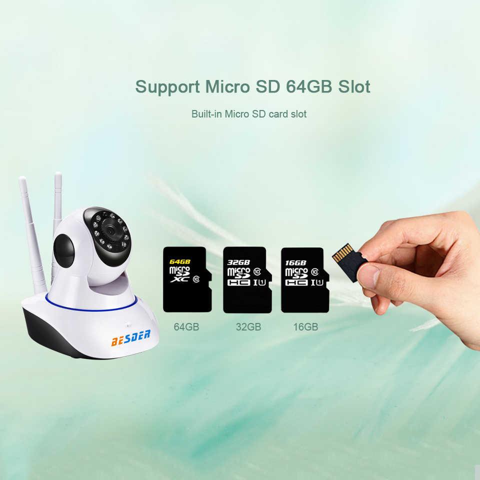 BESDER Draadloze IP Camera 1080P WiFi Network Security Nachtzicht Audio Video CCTV Surveillance Camera P2P ICSee Babyfoon