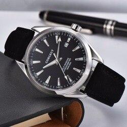 Corgeut automatyczny zegarek zegarki mechaniczne dla mężczyzn zegarek sportowy luksusowej marki wodoodporne samonakręcające zegarki na rękę Relogio Masculino