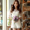 Dabuwawa three colors all match lace jumpsuit lace shorts
