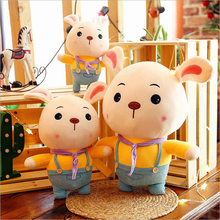 New Style Cute Rabbit Soft Plush Toys Stuffed Animal Rabbits Plush Doll Pillow Children Toy Girls Ragdoll Gifts ragdoll