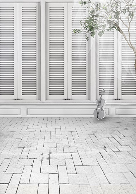 200cm 150cm 6 5ft Brick Floor Branches Guitar Doors Phoptography Backdrop Background For Photo Studio 3313 In From Consumer Electronics On