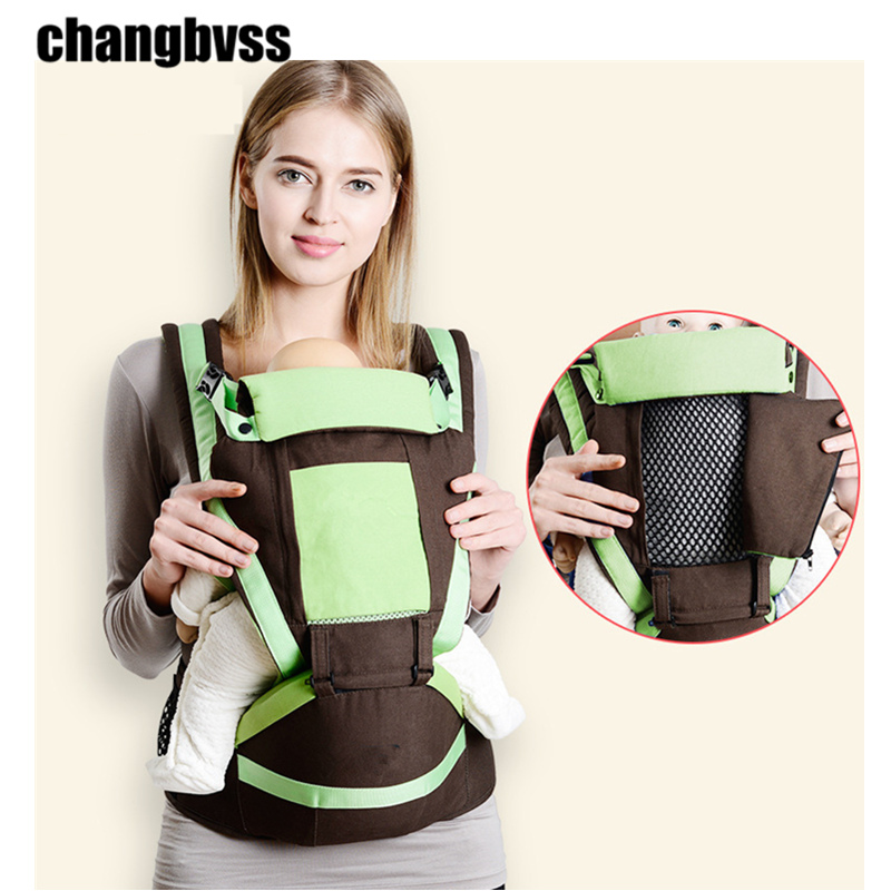 Summer Breathable Baby Backpacks Adjustable Baby Sling Carrier Hipseat,Baby Holder For 0-48 months Kids,mochila portabebe