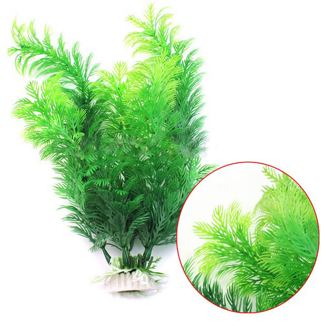 11.8'' Artificial Plant Mini Fake Tree Decorative Fake Plant Aquarium Plant For Fish Tank Aquarium Home Decor