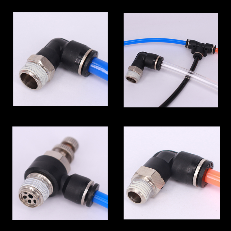 10PCS LOT Pneumatic fitting quick push in connector pipe fitting PL4 01 PL6 M5 PL6 02 PL6 01 PL6 M5 PL12 03 PL8 02 PL10 02 in Pneumatic Parts from Home Improvement