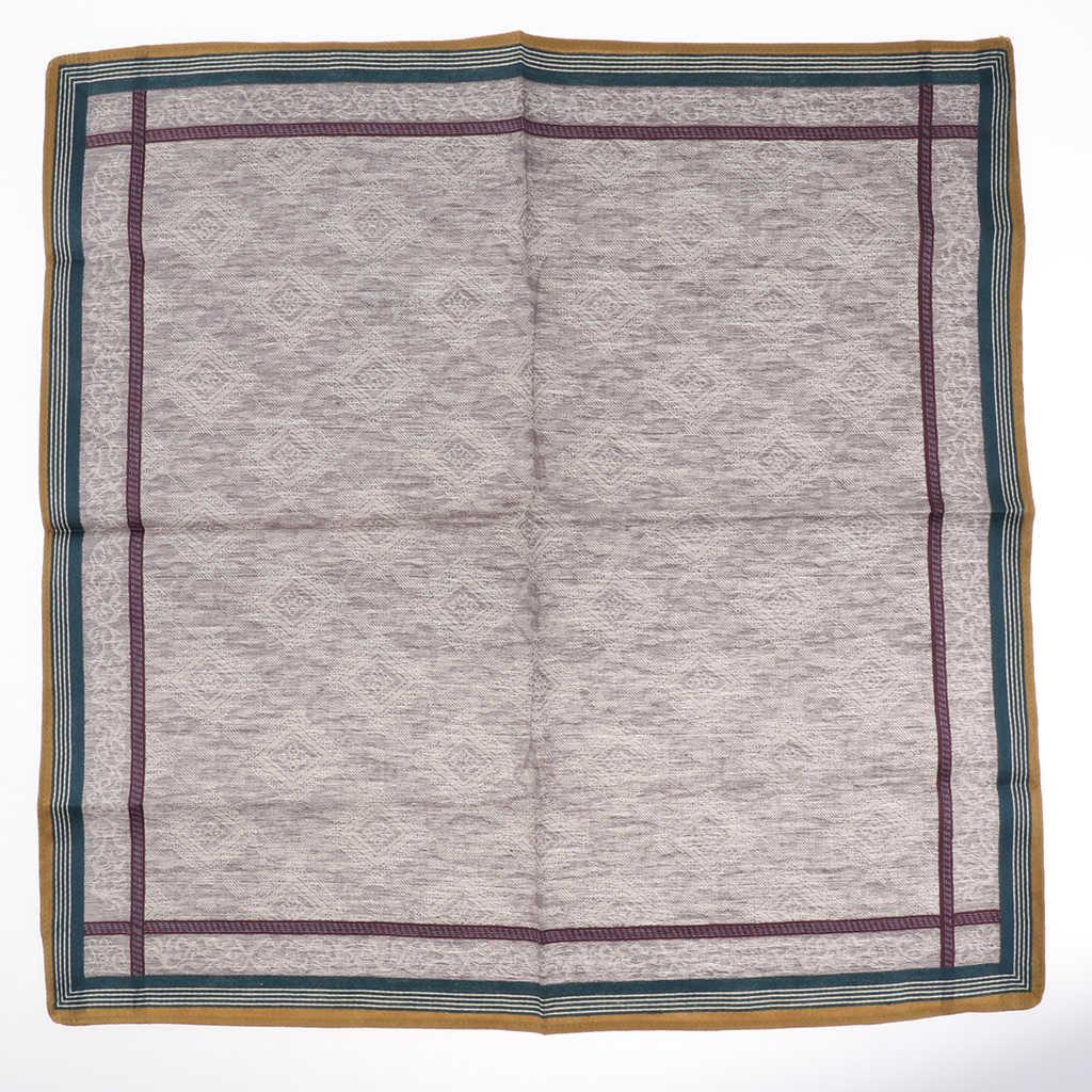 3 uds pañuelos a cuadros clásicos para hombres 100% pañuelos cuadrados de algodón para fiesta de boda 43*43cm